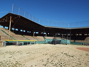 Warren Ballpark - Image: Bisbee Warren Ballpark 1909 1 4