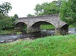 Blackaddie Bridge over the River Nith at Sanquhar.