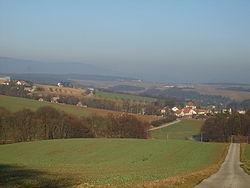 Blick über die Gemeinde Jablonka.JPG