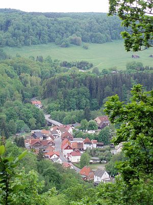 Altenbrak - Image: Blick auf Altenbrak