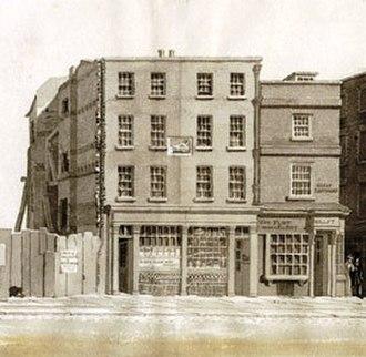 Boar's Head Inn - Image: Boars Head Tavern (1829)