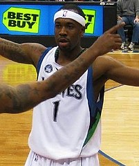 Brown w barwach Minnesota Timberwolves w 2009.