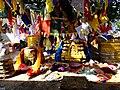 Bodh Gaya - Votive Stupas (9219556477).jpg