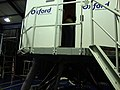 Boeing 737-400 flight simulator, Oxford Aviation Academy, London Oxford Airport, Oxfordshire, UK - 20130124.jpg