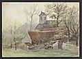 Boendael (église) 1898 drawing by Jean-François Taelemans, R-2009-26330, Prints Department, Royal Library of Belgium.jpg