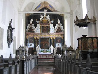 Børglum Abbey - Abbey church interior