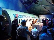 Presentazione della LOI della Korean Air al Paris Air Show 2011.