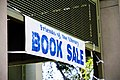 Book Sale banner at the Friends of the Beaufort County Library book sale (5021250728).jpg
