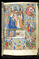 Book of hours, use of Paris - BL Egerton 2019 f30 (Annunciation).jpg