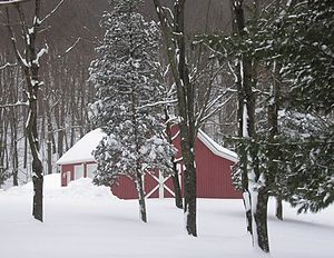 Boonton Township, New Jersey - A winter scene in Boonton Township.