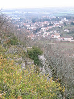 Bouzeron Commune in Bourgogne-Franche-Comté, France