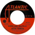 Border Song (Holy Moses) by Aretha Franklin US vinyl Side-A.png