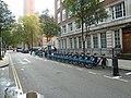 Boris bikes in Ashley Place - geograph.org.uk - 2605579.jpg