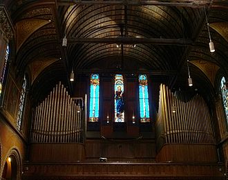 Trinity Church (Boston) - Gallery-Organ by Hilborne L. Roosevelt