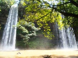 Boti falls - Image: Boti Falls, Eastern Region