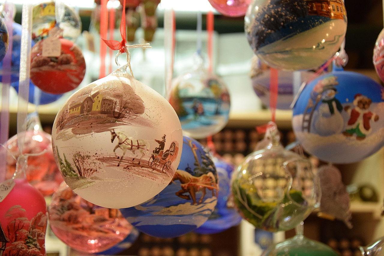 Boules De Noel Transparente A Decorer