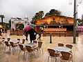 Bournemouth, man with umbrella in a festive Square - geograph.org.uk - 1631201.jpg