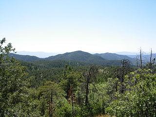 Bradshaw Mountains Mountain range in Arizona
