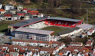 Årstad, Bergen - Brann stadion, home of the football club SK Brann.