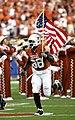 Brian Orakpo American flag 2008-09-20.jpg