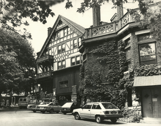 The King's College (New York City) - The Briarcliff Lodge, the main facility of the school's former Briarcliff Manor campus, c. 1980s