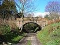 Bridge over bridleway, Southcott, Wiltshire (2) - geograph.org.uk - 356978.jpg