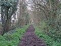 Bridleway running north-west from High Street, Hempstead (geograph 4902819).jpg