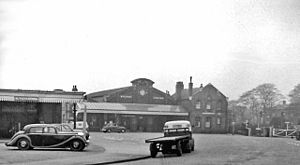 Bridlington railway station - The station in 1961