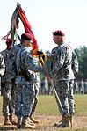 Brig. Gen. Richard D. Clarke assumes command of the 82nd Airborne Division (15431638962).jpg