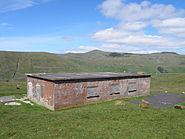 British Concrete Pillbox from World War II on Eggjarnar Faroe Islands