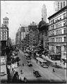 Broadway north from 38th St., New York City, showing Winter Garden, Maxine Elliott's, Casino, and Knickerbocker Theatres LCCN2003689020.jpg