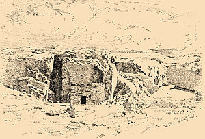 Simeon the Just - Tomb of Simeon the Just from the Jewish Encyclopedia (1906—1913)