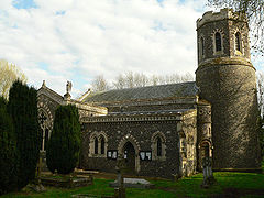 The church of St Mary at Brome