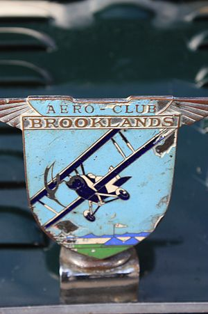 Brooklands - Brooklands Aero-Club car badge