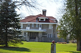 National Register of Historic Places listings in Hancock County, Indiana - Image: Browne Rafert House