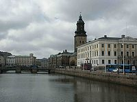 Kanał Brunnsa w Göteborgu