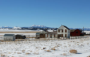 National Register of Historic Places listings in Park County, Colorado - Image: Buckley Ranch