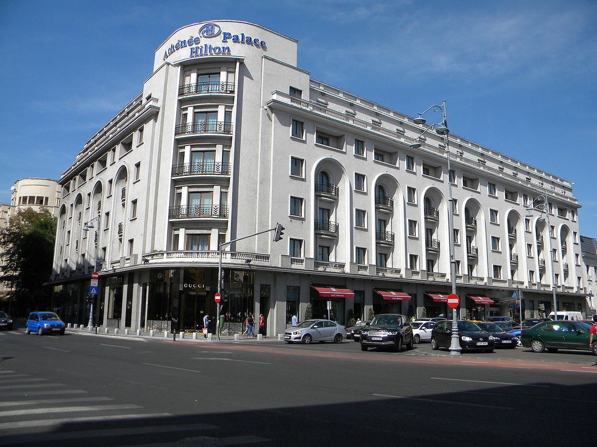 Athenee palace hilton bucharest wikipedia for Small luxury hotels of the world wiki