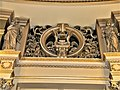 Bucuresti, Romania. ATHENEUL ROMAN. (Interior-Hall-detaliu) (10) (B-II-m-A-18789).jpg
