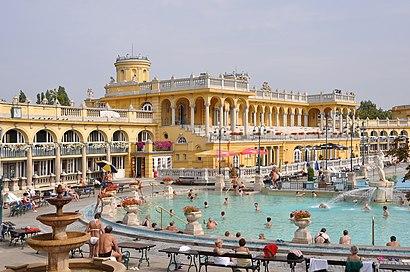 Menetrendek Széchenyi Gyógyfürdő tömegközlekedéssel