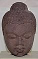 Buddha Head - Sandstone - Circa 6th Century AD - Sarnath - Archaeological Museum - Sarnath - Uttar Pradesh - Indian Buddhist Art - Exhibition - Indian Museum - Kolkata 2012-12-21 2298.JPG