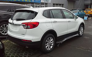 Buick Envision - Rear view