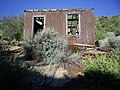 Building at the Ida May Mine, northern end of the Bristol Range, Looking S, Lincoln Co., NV - panoramio.jpg