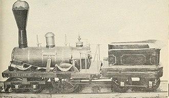 Sandusky (locomotive) - Model of Sandusky, 1837