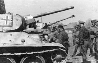 2nd SS Panzer Division Das Reich - Das Reich captured enough T-34 tanks to form the III/Battalion SS Panzer Regiment 2 (April 1943)