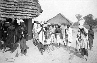 Tabora - Captives in Tabora (1907)