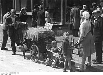 Demographic estimates of the flight and expulsion of Germans - German expellees in Northwestern Germany, 1948