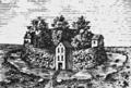 Burg Arnesvelde Darstellung von 1897a.png