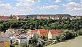 Burghausen - nördl. Bereich der Burg.JPG