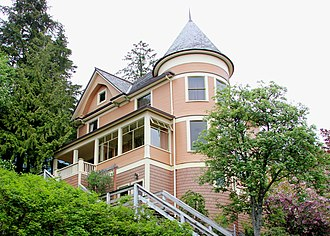 National Register of Historic Places listings in Ketchikan Gateway Borough, Alaska - Image: Burkhart dibrell house
